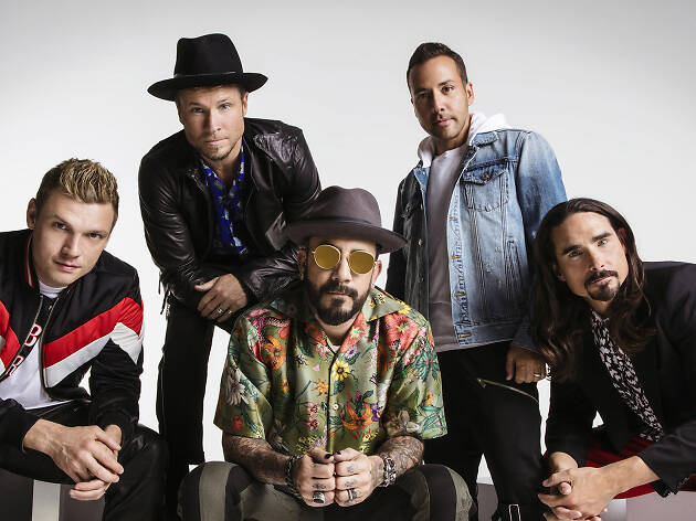 Backstreet Boys exhibit experience at the Grammy Museum in Los Angeles