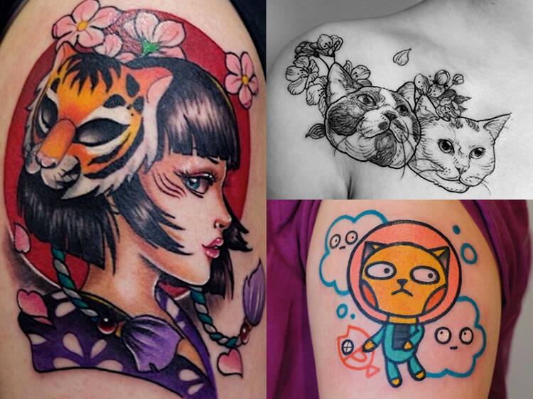 六個必跟的香港女紋身師