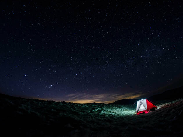 Stargazing in Galloway Forest Park