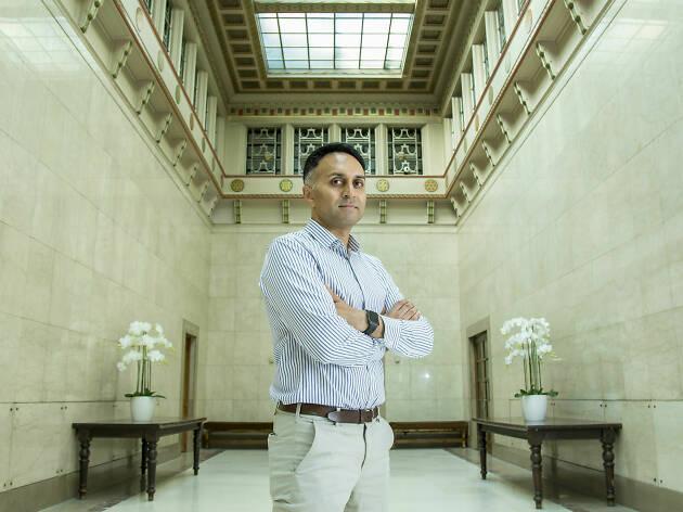 Pinakin Patel, an anti-terrorism officer