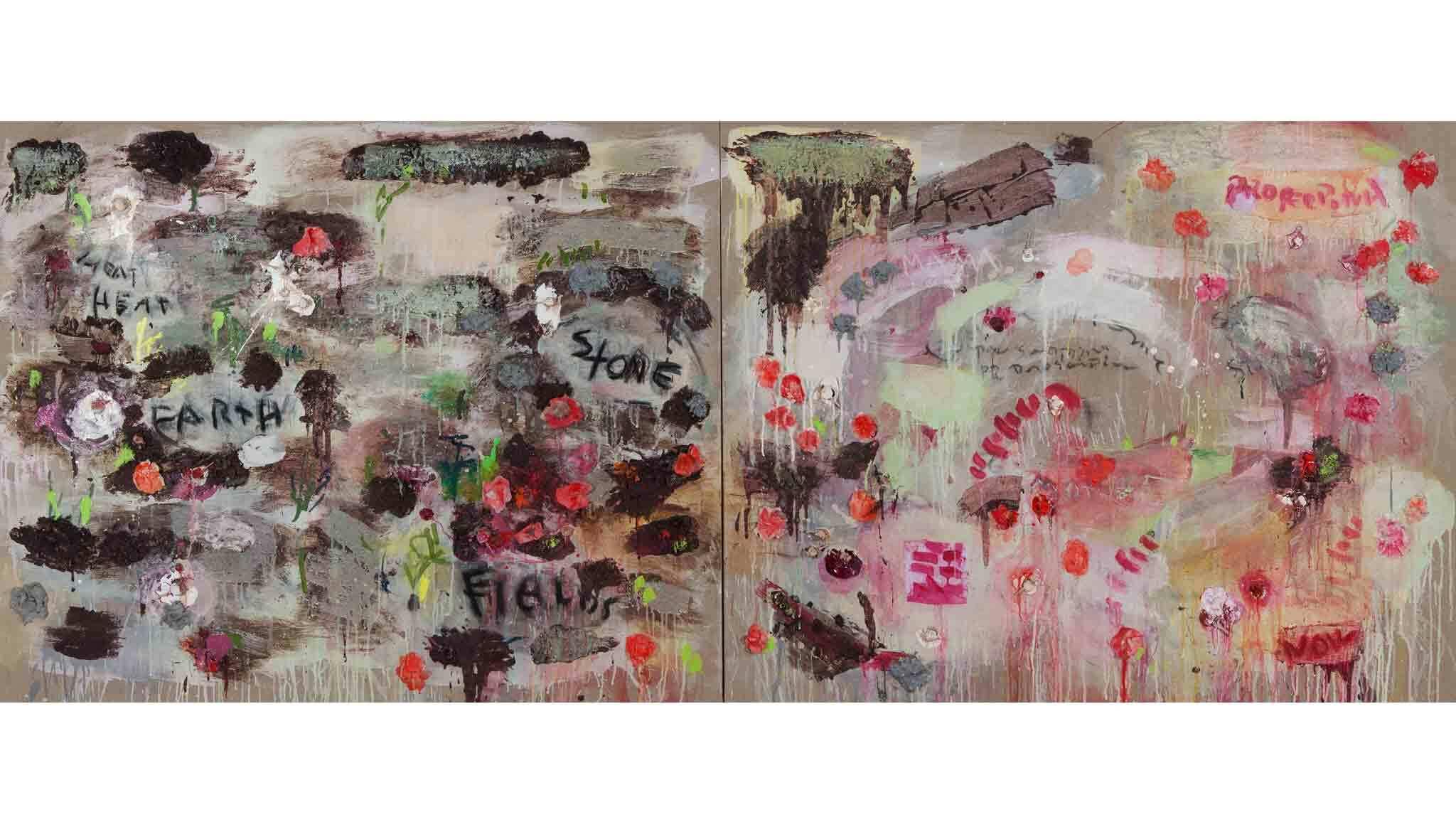 Joan Snyder: 'Rosebuds & Rivers'