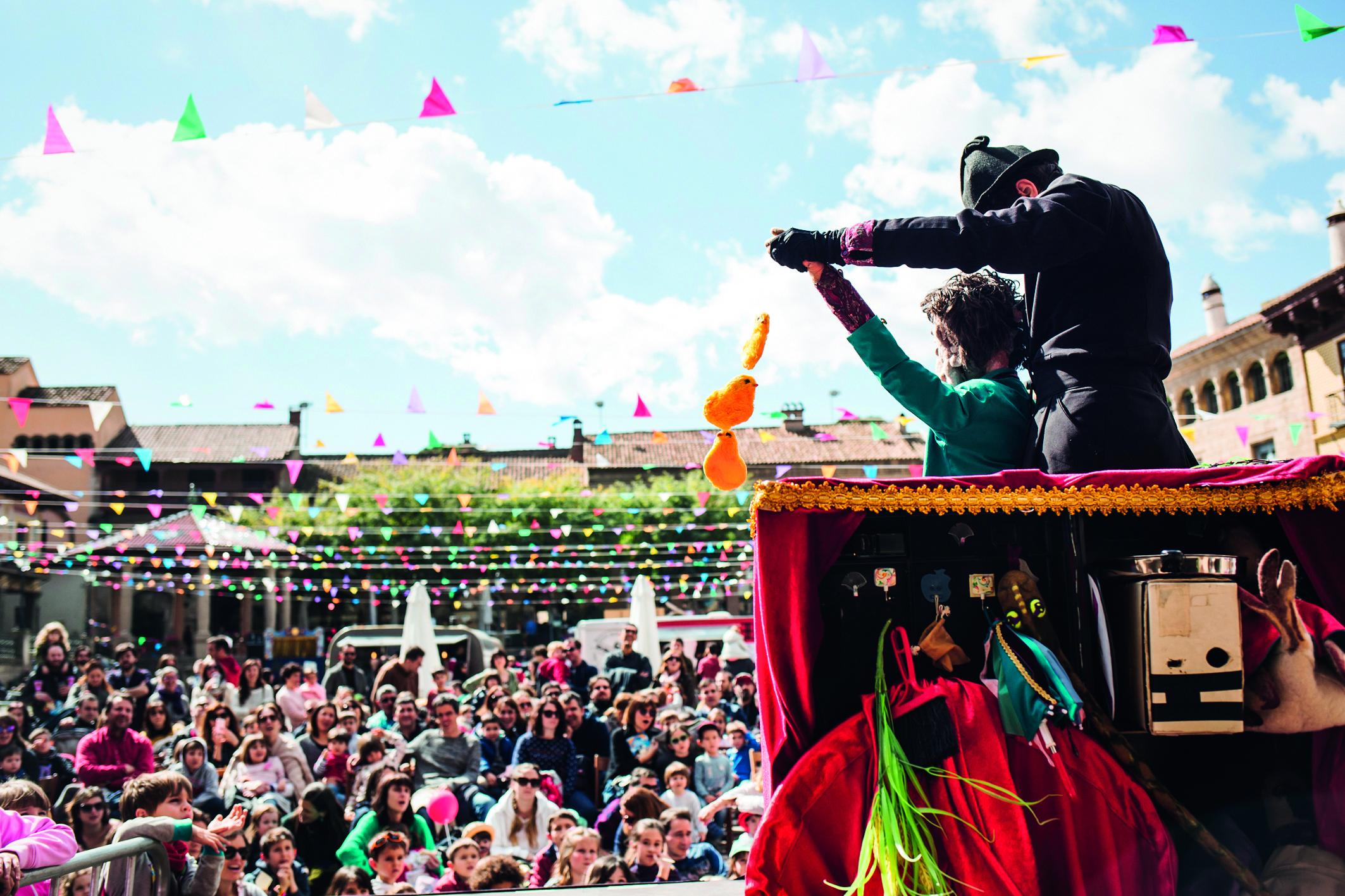 Festival de Titelles Poble Espanyol