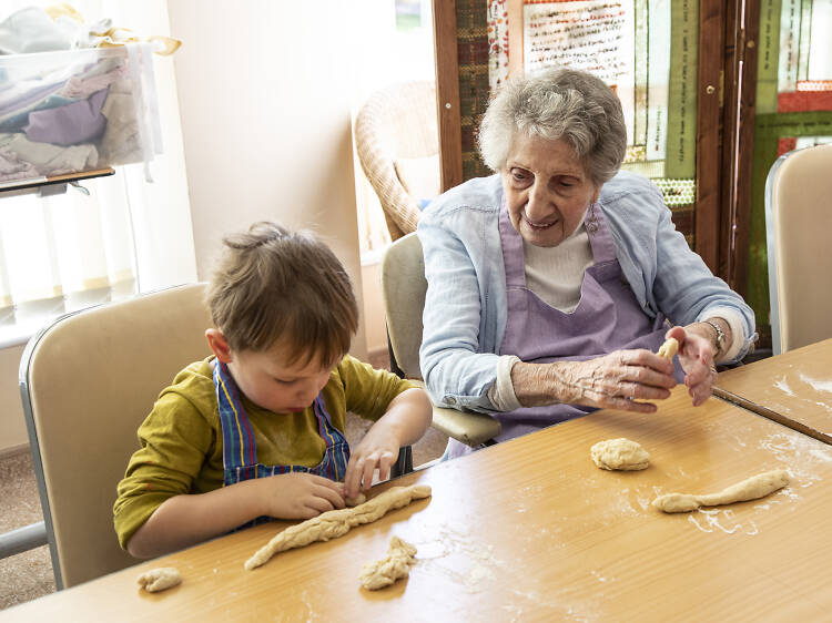 Inside the London care home that's also a nursery