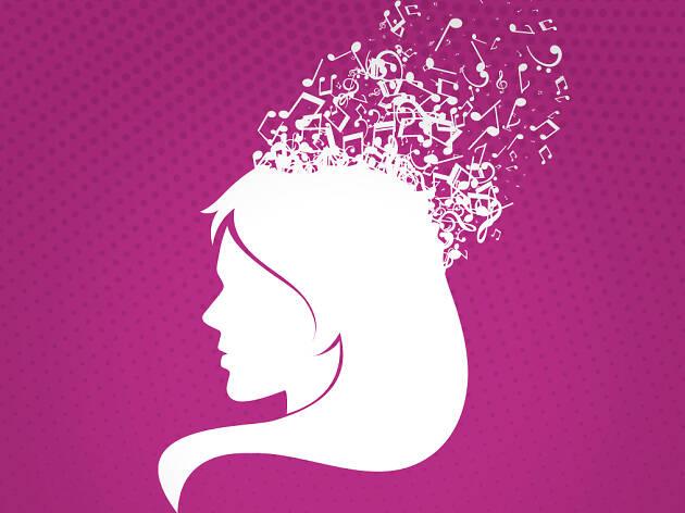 Dia internacional de les dones a la Plaça Reial
