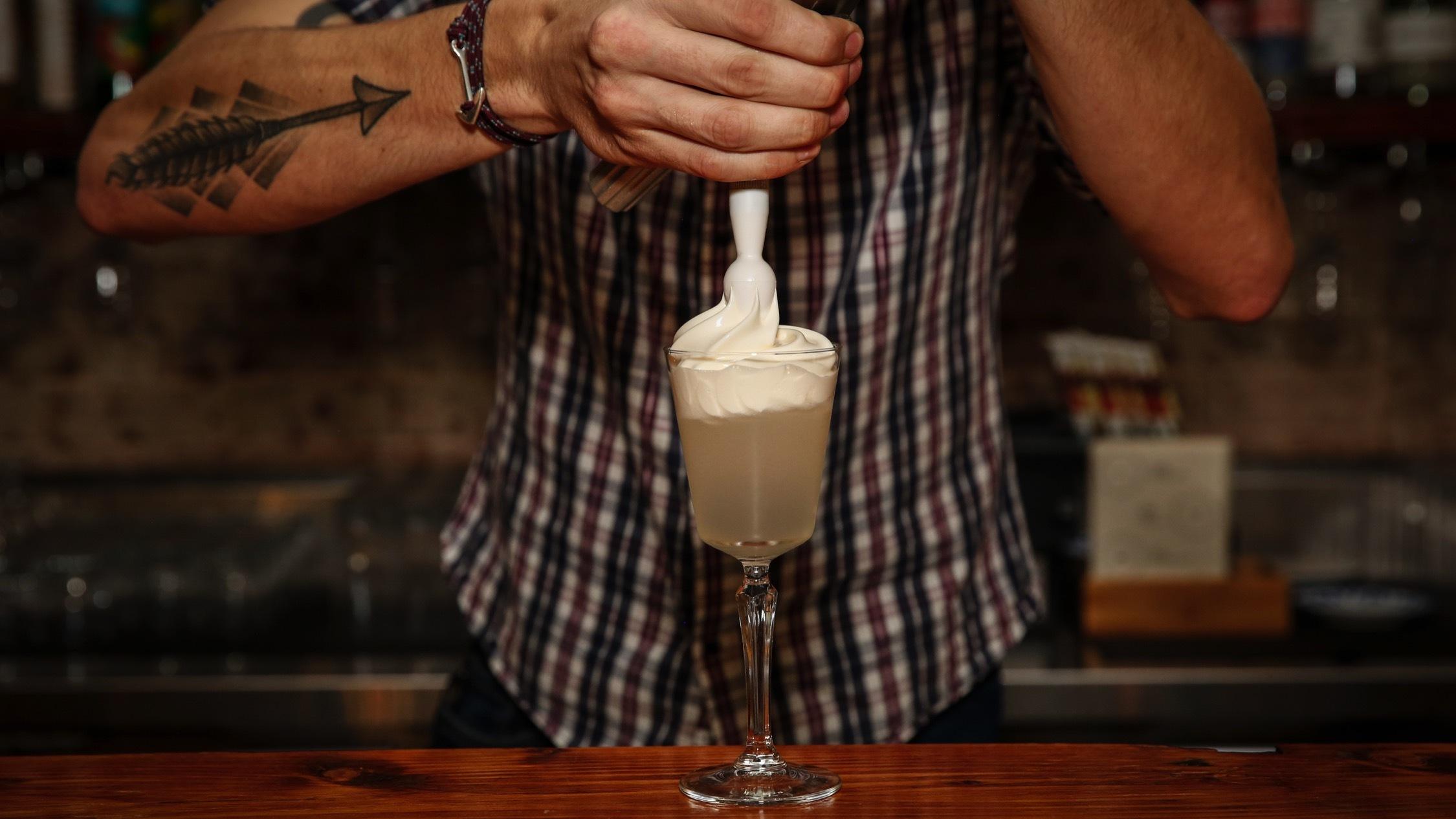 cocktail at Tandem Bar