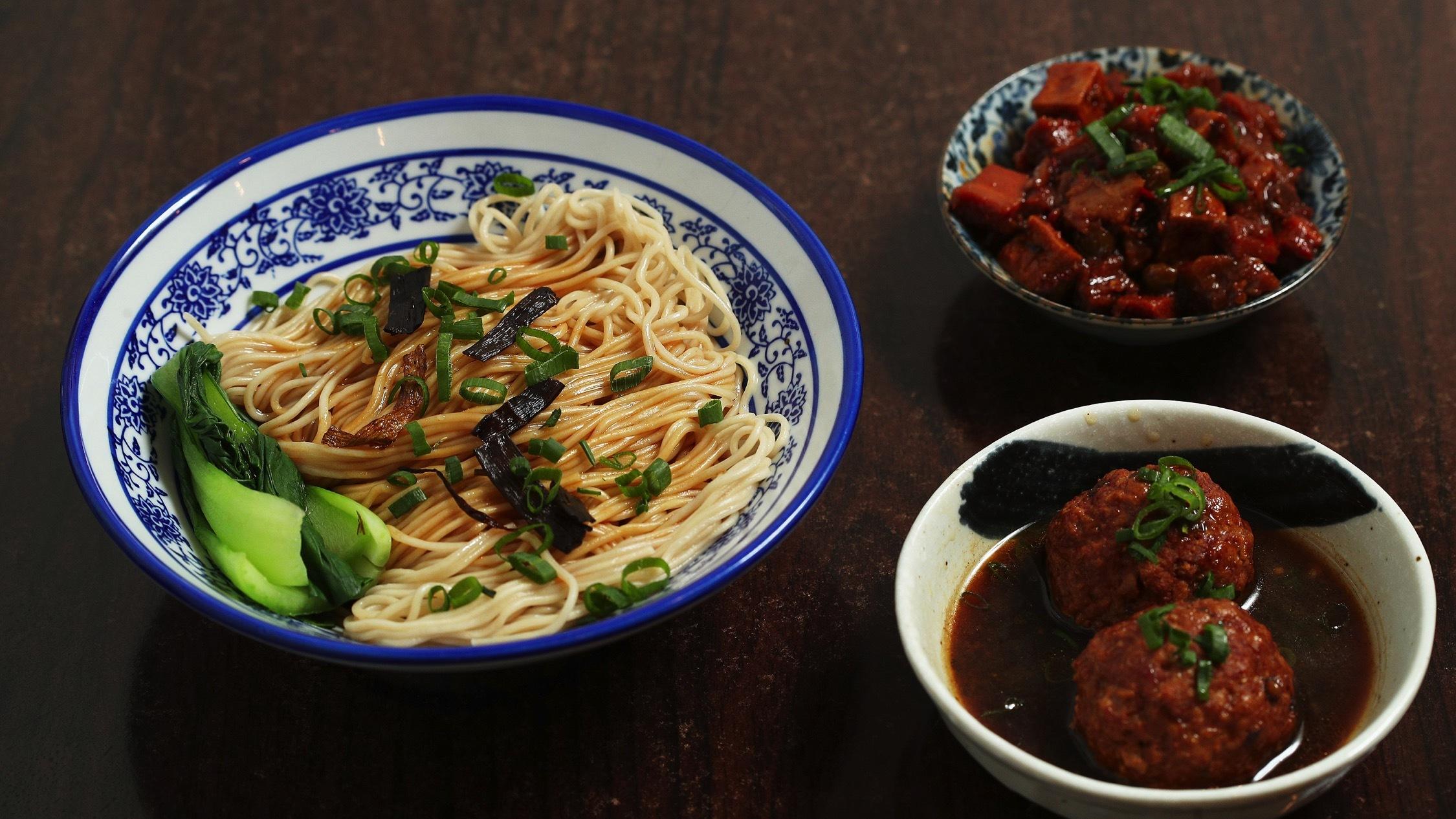 noodles at Nong Tang Noodle House