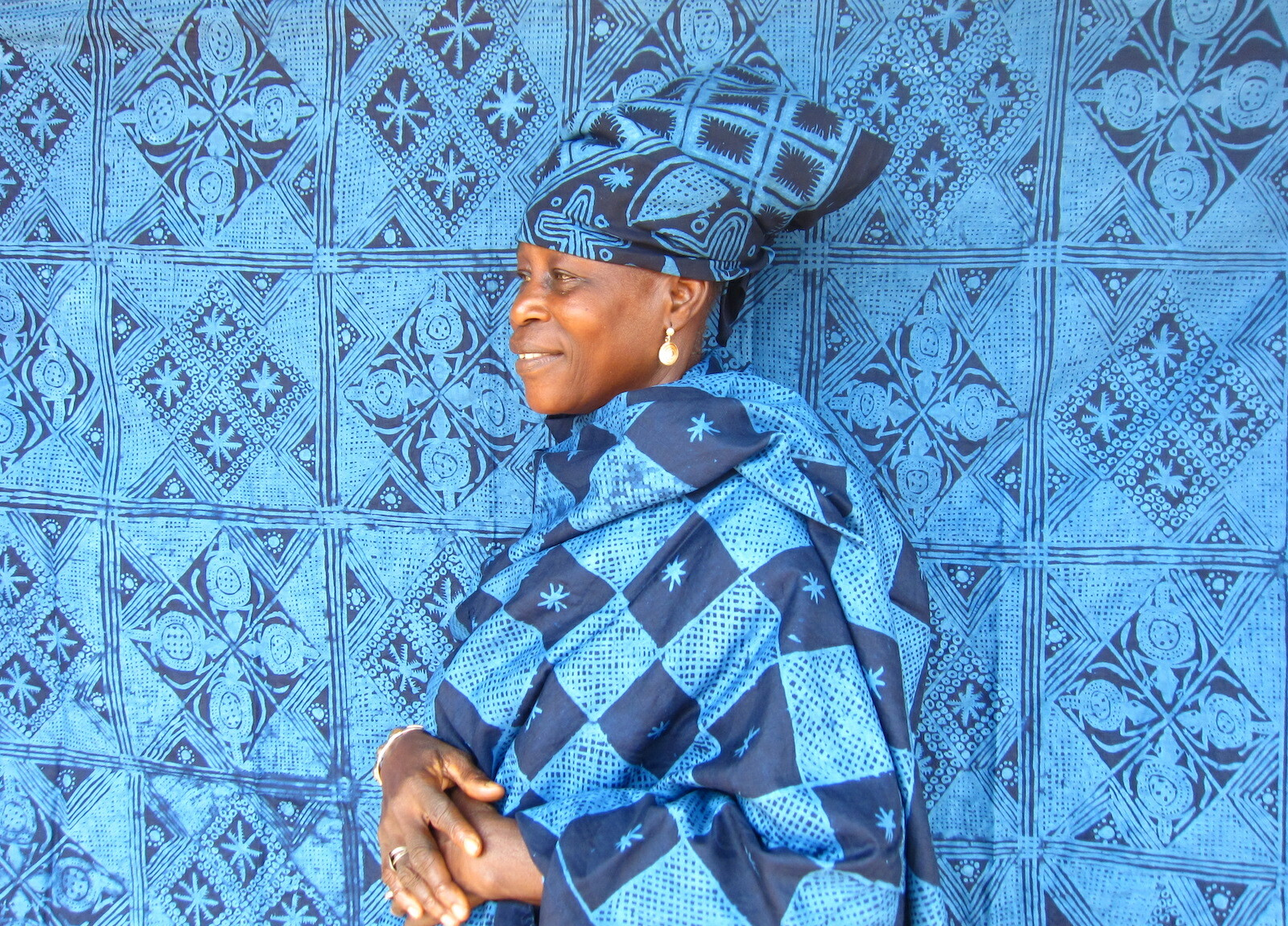 African Chic 暮らしを彩るアフリカの布とかご