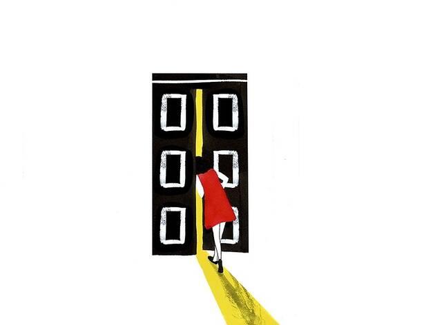 """O programa fora de portas """"Guardar Segredo"""", integrado nas Festas de Lisboa, decorre de 30 de Maio a 2 de Junho e compõe-se de um conjunto de espectáculos de teatro que acontecem dentro de dois guarda-fatos colocados no espaço público"""
