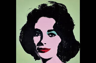 Andy Warhol. Liz #3 [Early Colored Liz],1963.
