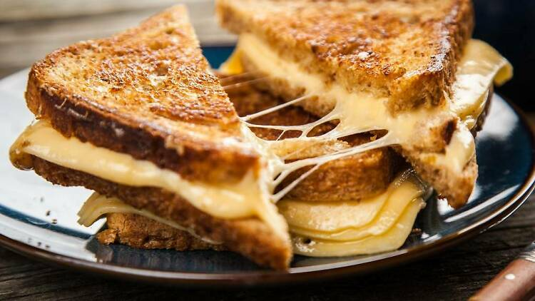 Los mejores grilled cheese sandwiches en la CDMX
