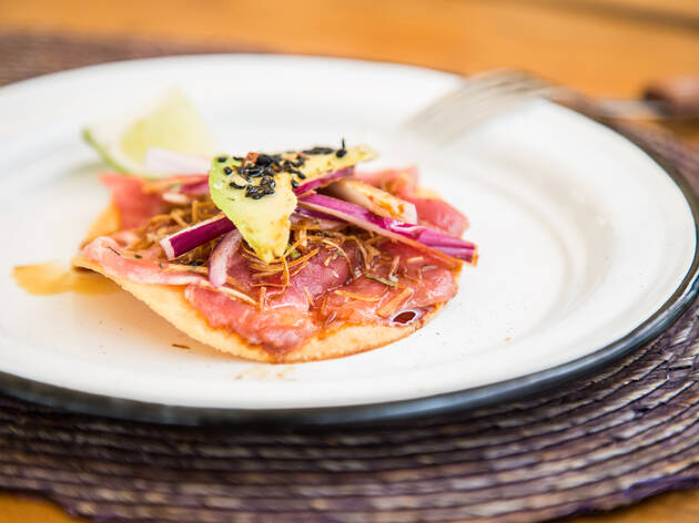 Nacú, restaurante veracruzano en la Guadalupe Inn