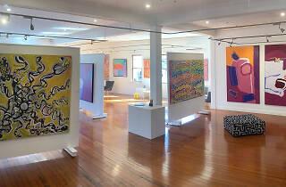 inside Kate Owen Gallery