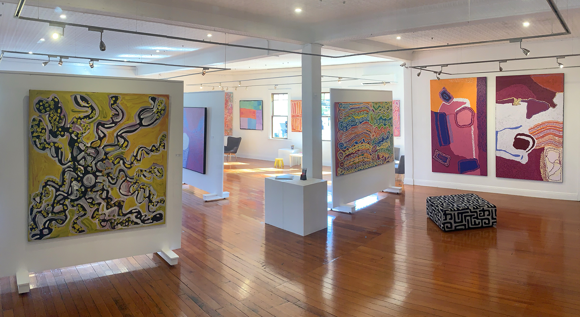 inside Kate Owen Gallery