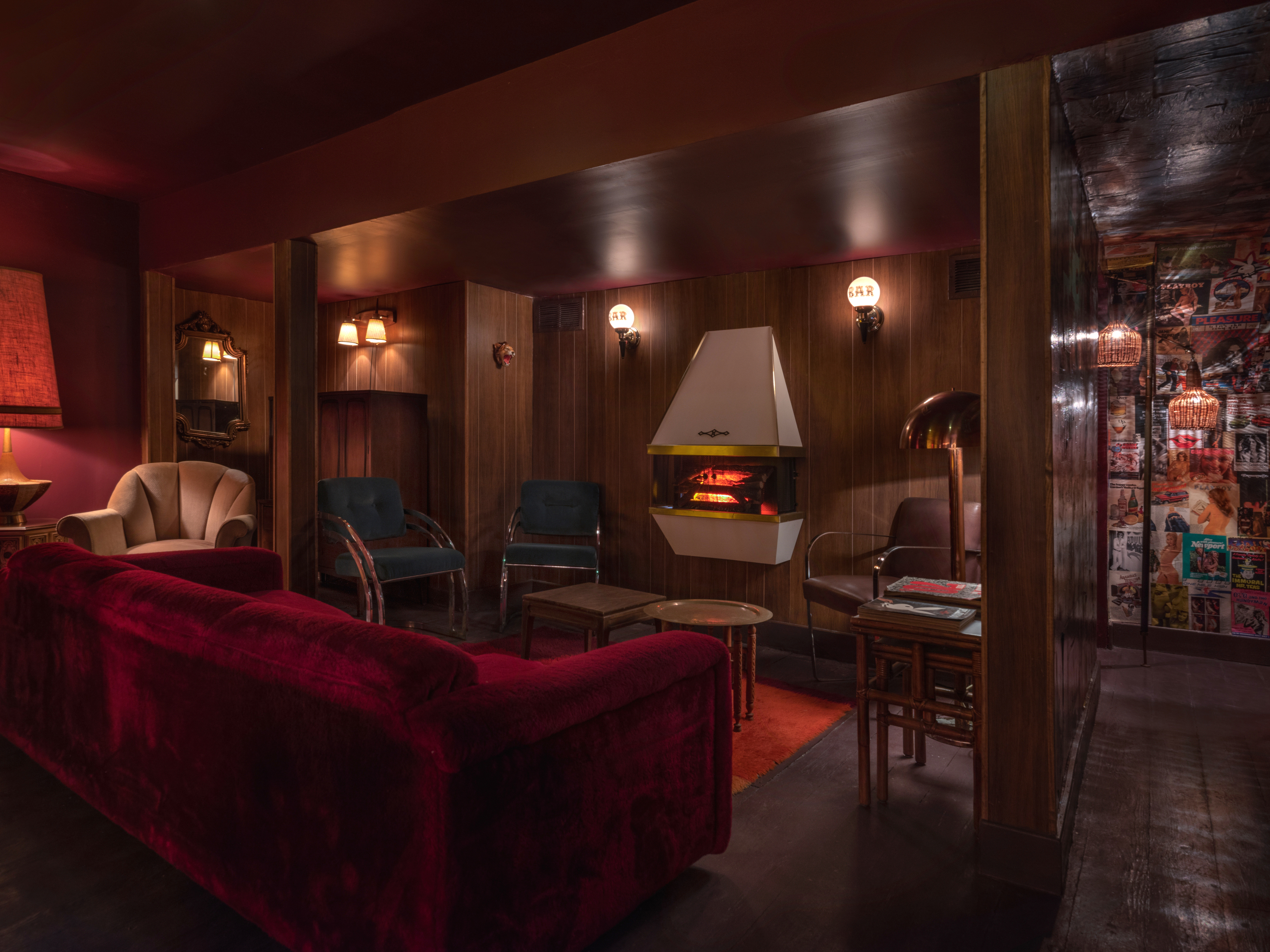 18 Fireplace Bars Nyc Has Where You Can Drink In A Cozy Setting