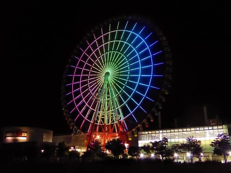 Amusement: Daikanransha ferris wheel