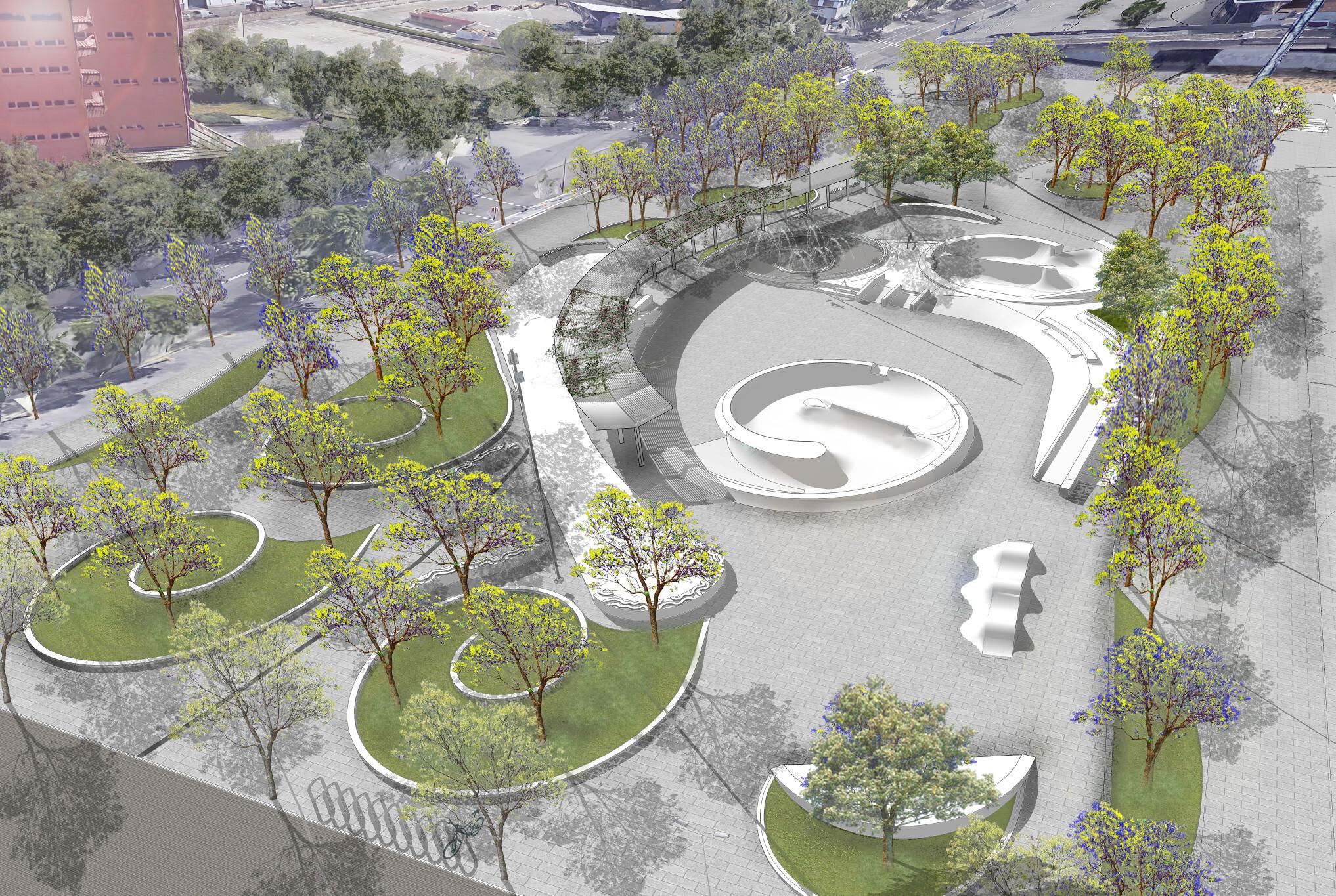 Barcelona tindrà un nou skatepark de 7.000 m2