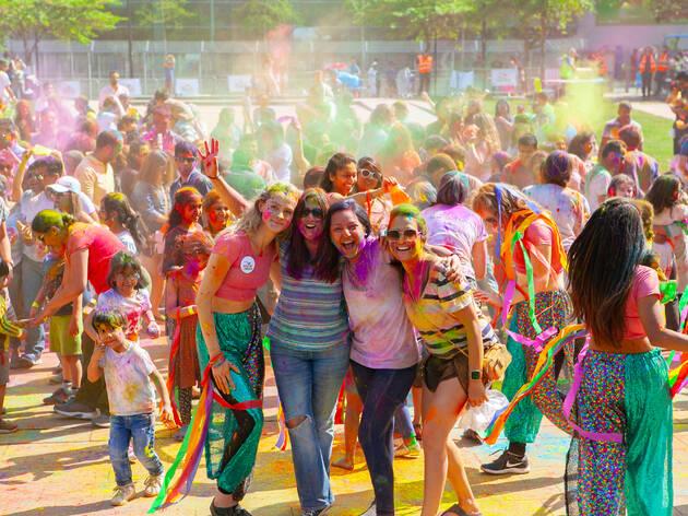 Holi Colour Dance Party