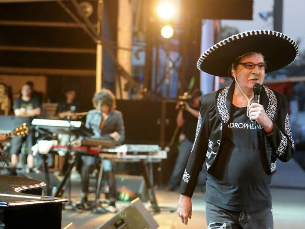 Charly García en el Vive Latino