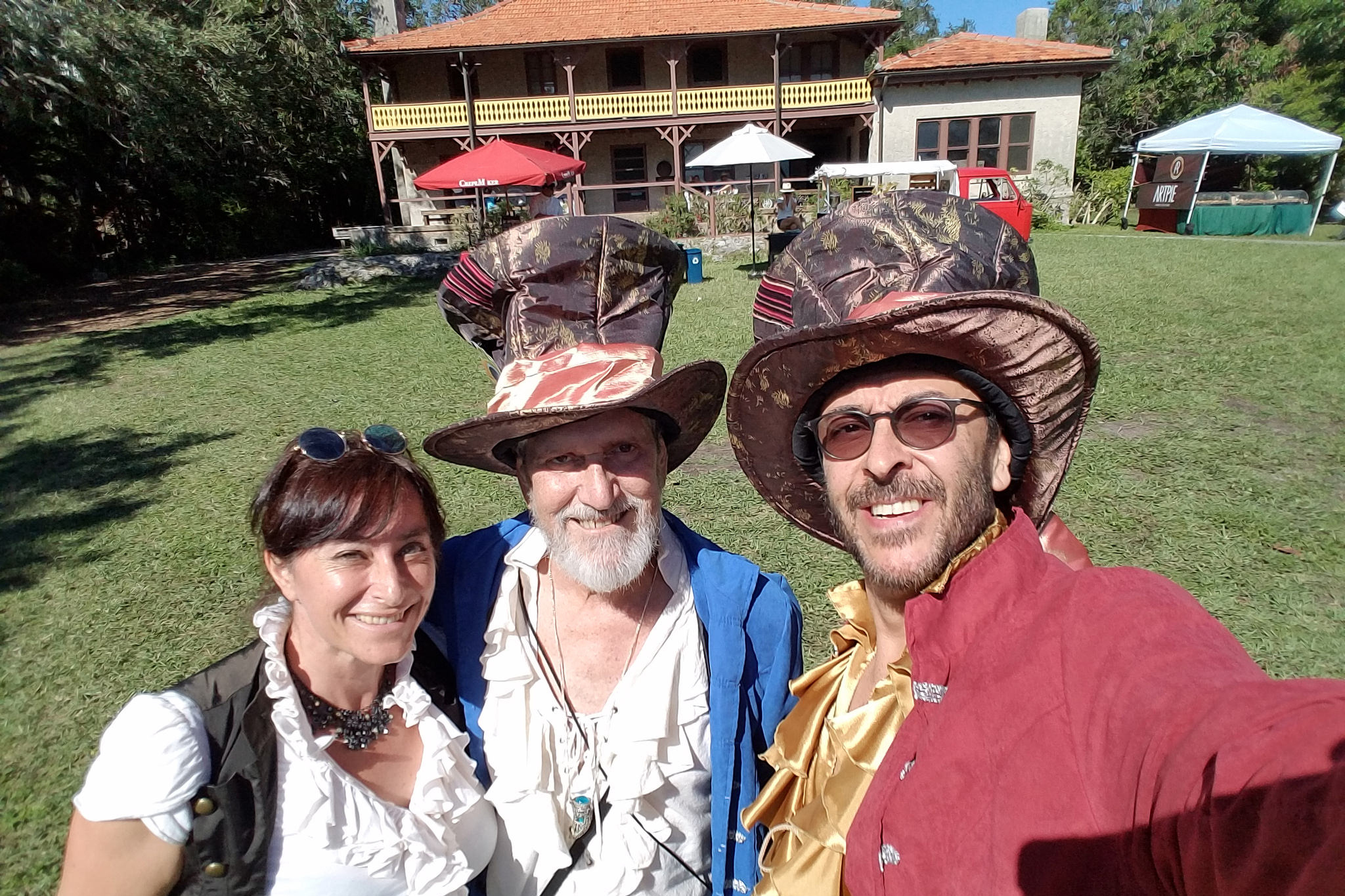 Mad Hatter Arts Festival at the Barnacle in Miami