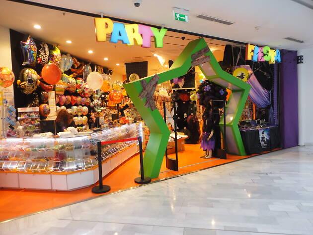 loja de festas