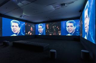 Leonard Cohen Exhibit
