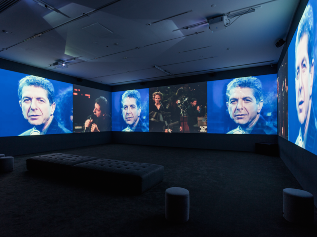 Leonard Cohen Exhibit
