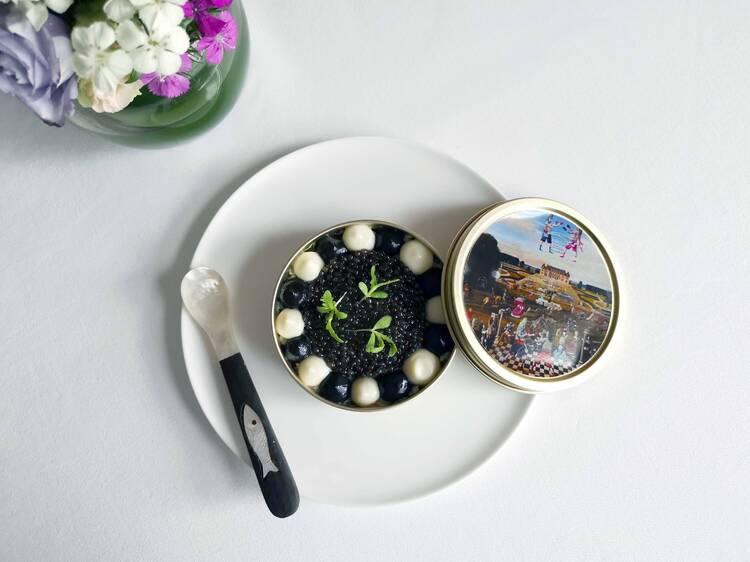 Feast your eyes on the Mandarin Grill + Bar's art menu