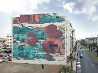 Aryz - Jidar Street Art Festival
