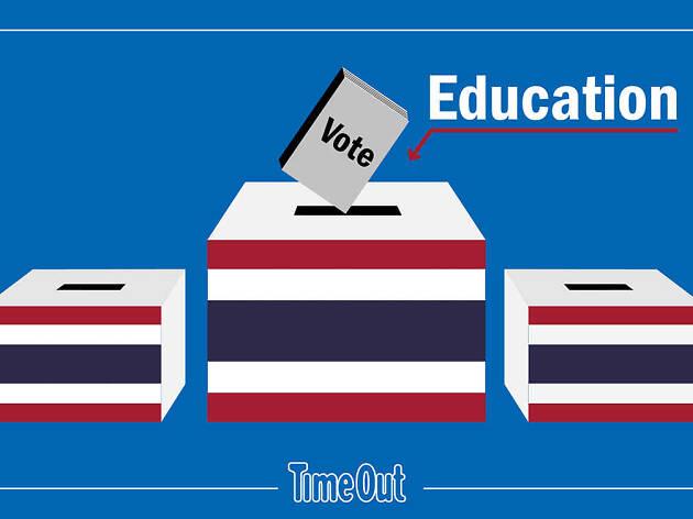 เลือกตั้ง พรรค การศึกษา party education