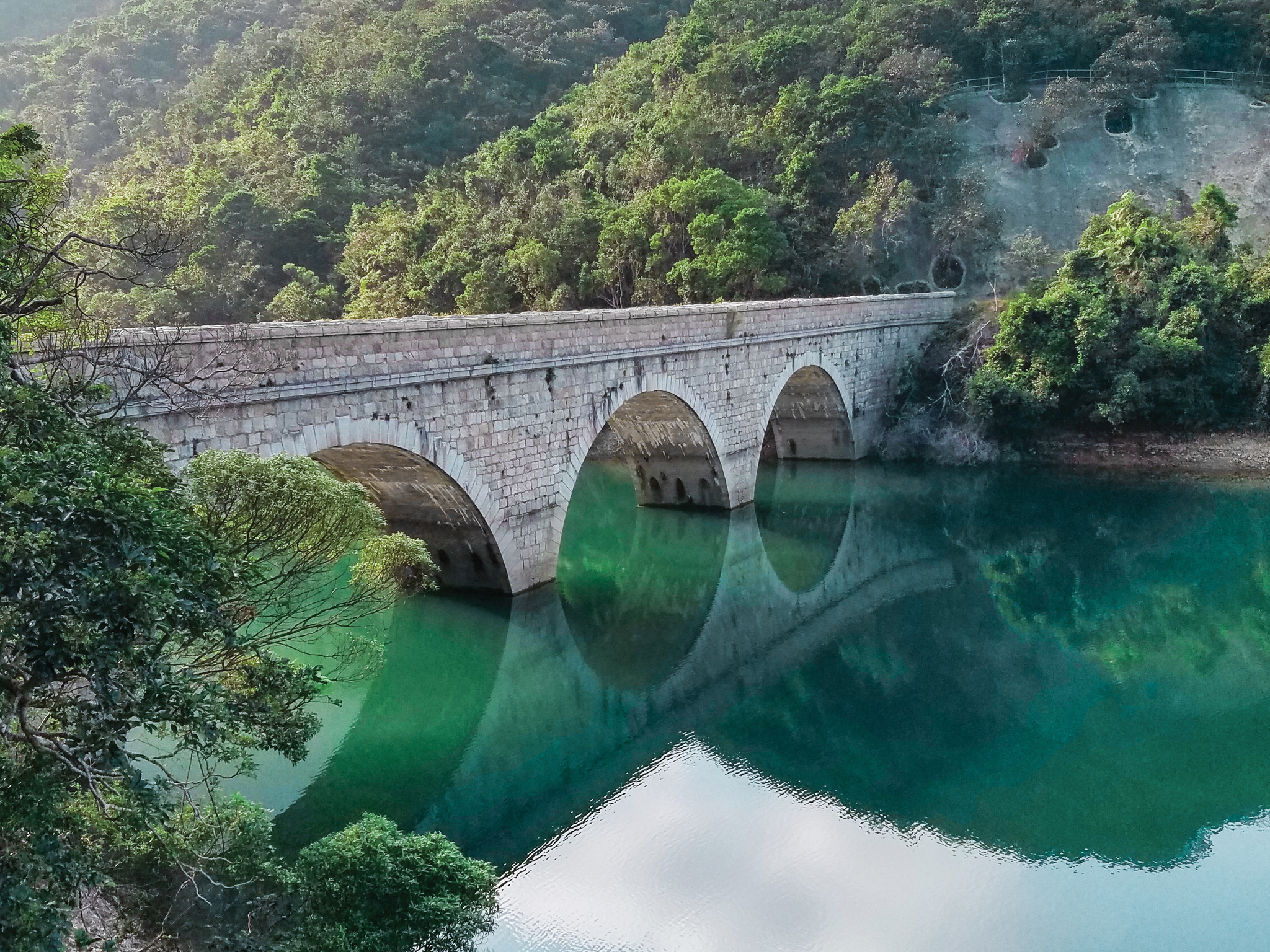 Tai Tam Tuk Reservoir Masonry Bridge