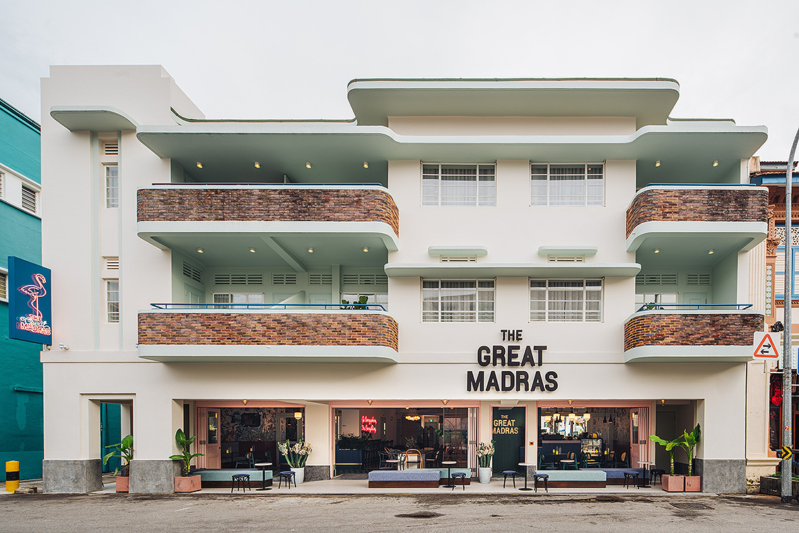The Great Madras, Hotel