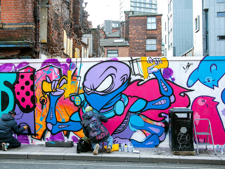 The most striking street art in Manchester