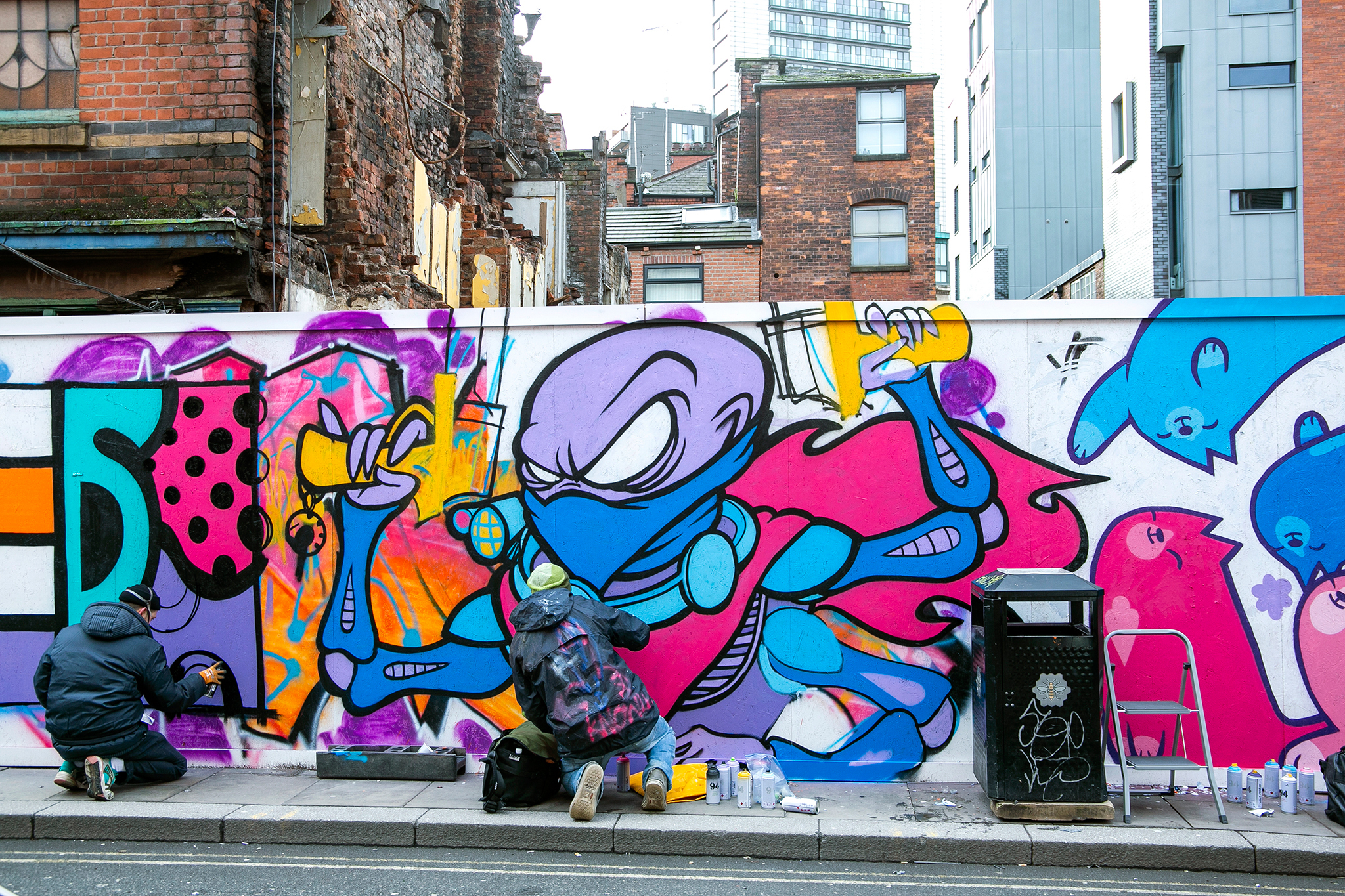The best street art in Manchester