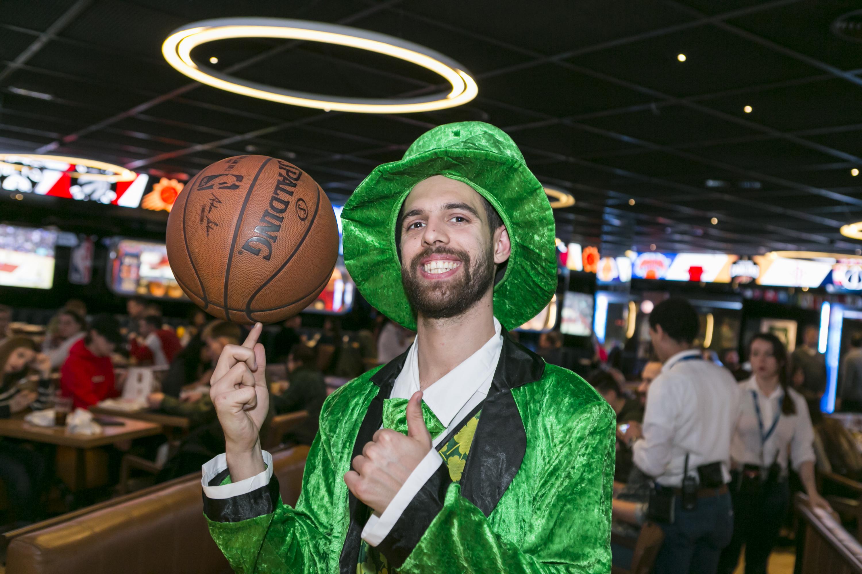 Saint Patrick's Day NBA Café Barcelona