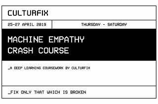 RAW: Machine Empathy Crash Course, The Studios
