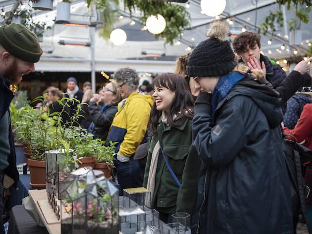 Green Rooms Market, Peckham Springs