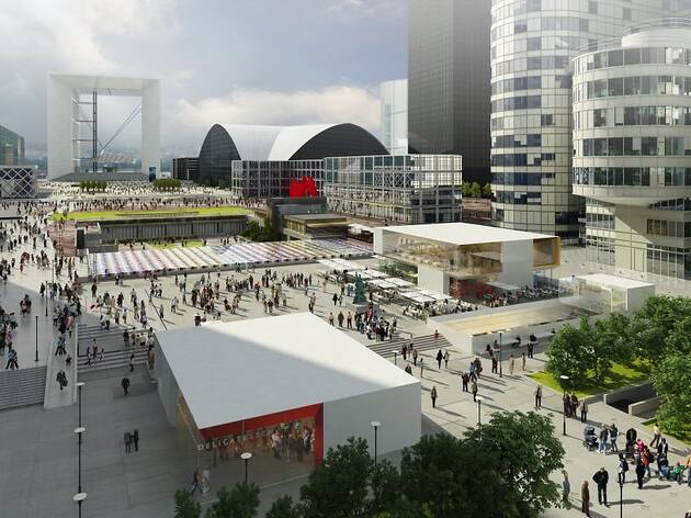 Un futur temple de la gastronomie de 4500 m2 sur l'esplanade de la Défense