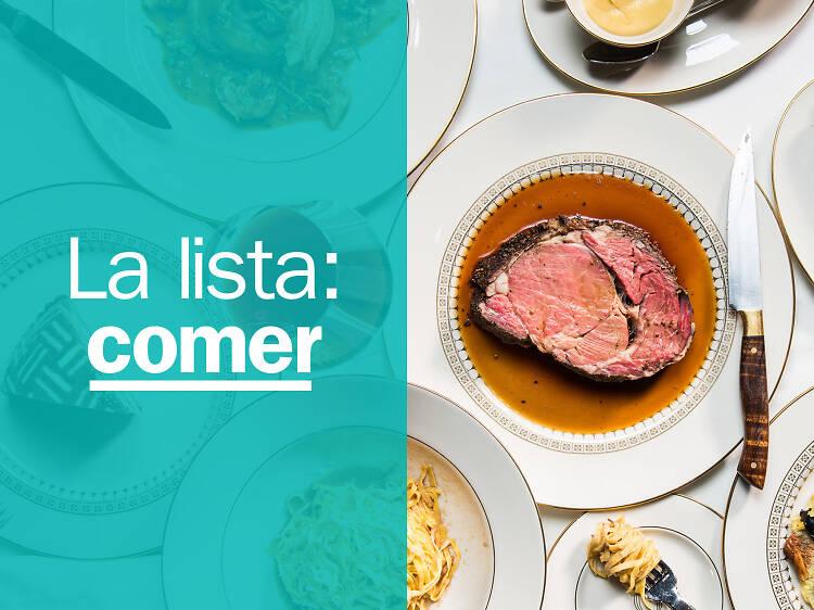 Los 10 mejores restaurantes de Nueva York