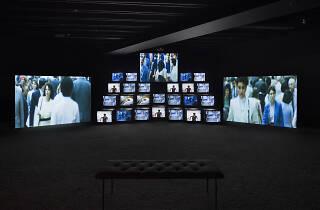 So Much Deathless exhibition by Gretchen Bender
