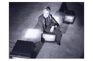 Portrait of Gretchen Bender, 1986