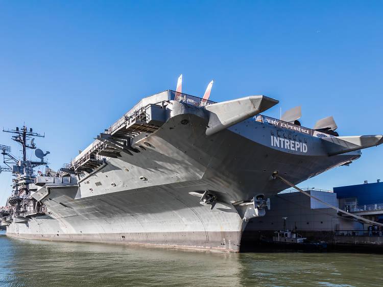 Intrepid Sea, Air & Space Museum's Free Fridays program