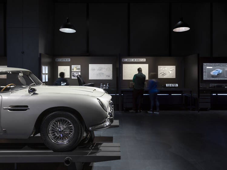 Live your 007 fantasy at the James Bond Exhibition