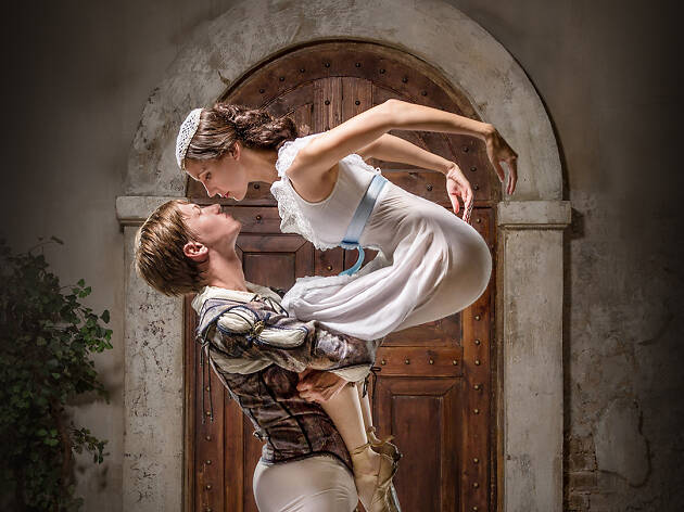 Romeo y Julieta interpretado por el Ballet Nacional de Rusia