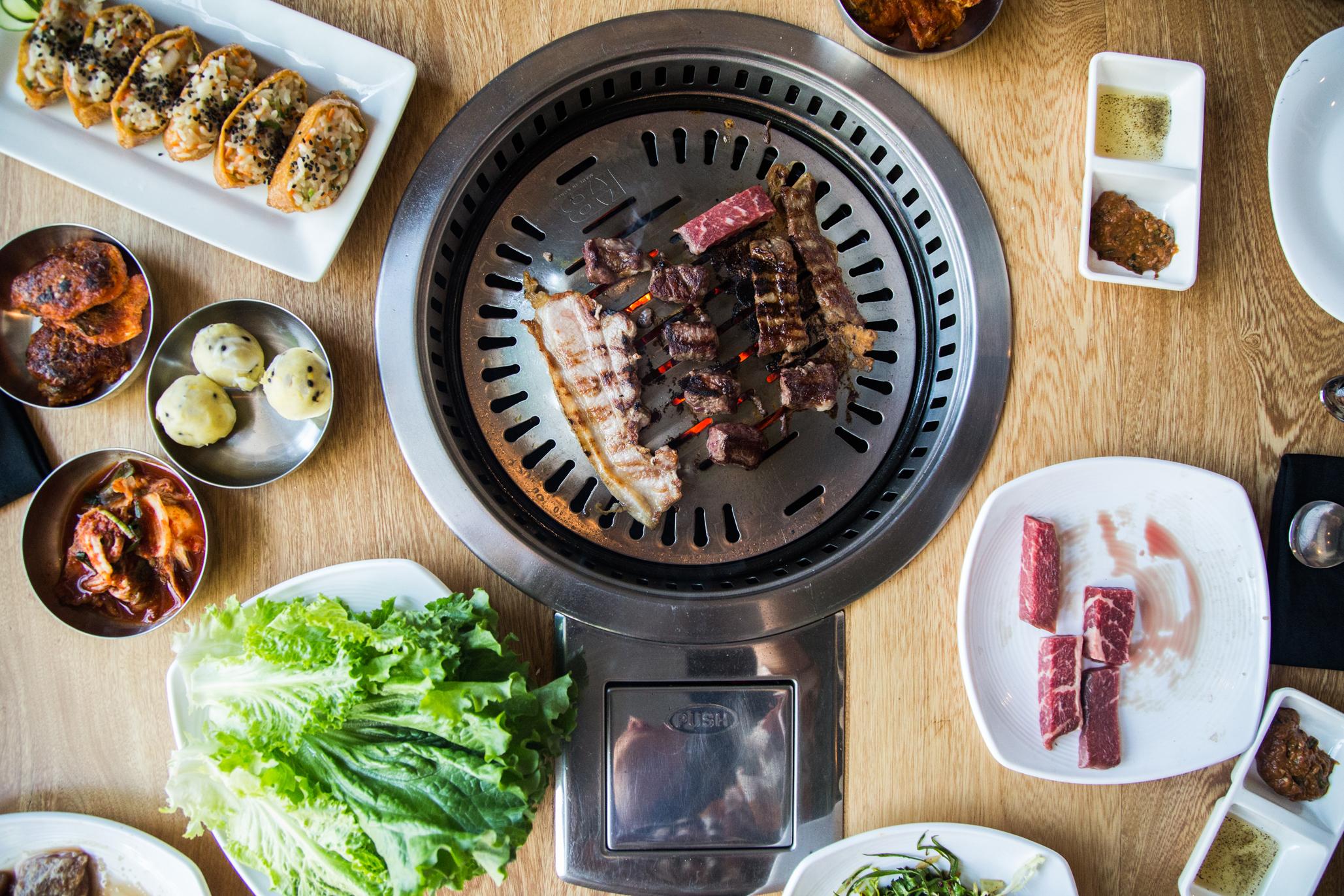Midam, bbq coreano en Lomas Virreyes