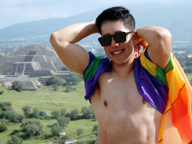 Campamento gay en Teotihuacan