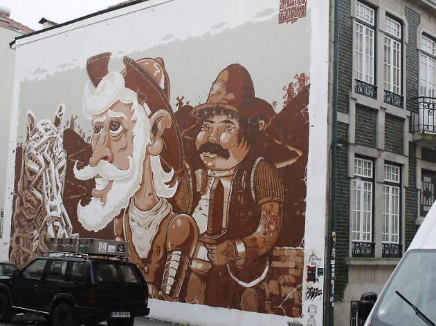 D. Quixote & Sancho Pança