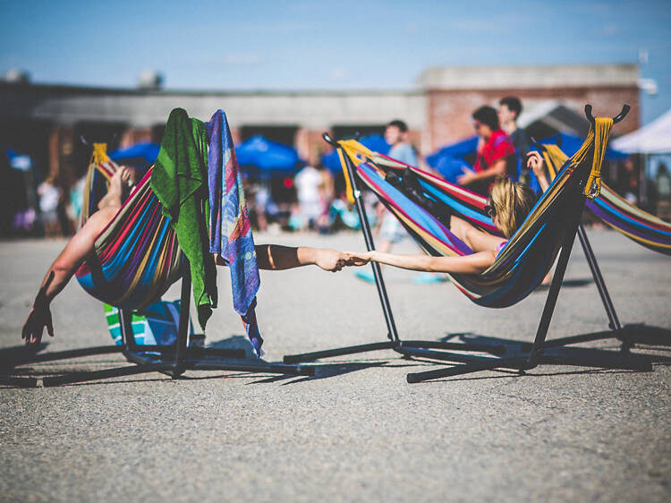 Be a beach bum