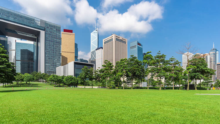Hong Kong Central Complex and Lawn