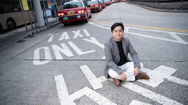 Franco Cheung taxi driver