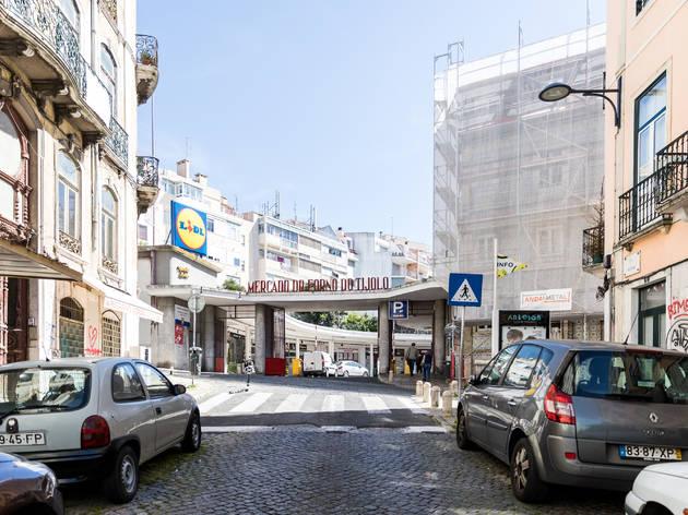Mercado do Forno do Tijolo, Arroios